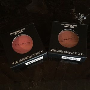 NWT MAC Pro Longwear blush bundle of 2